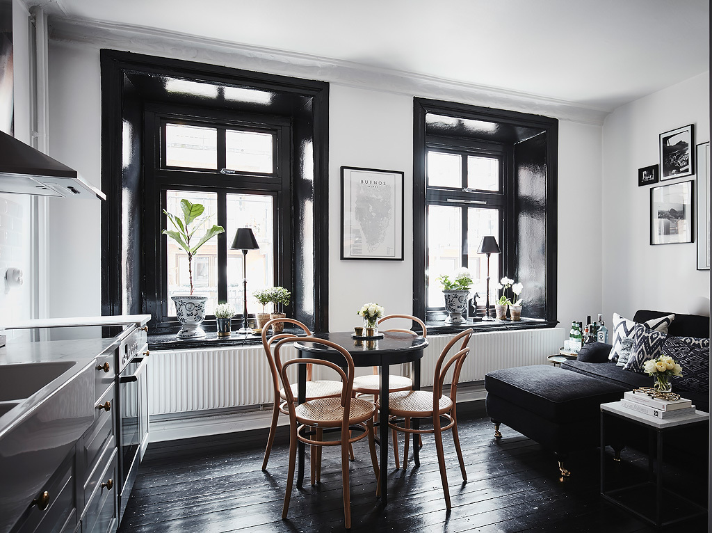 vre Majorsgatan 4 An monochrome apartment in Gteborg