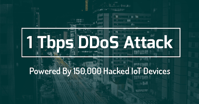 The largest DDoS Attack in the history