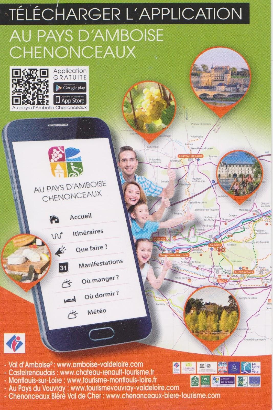 Vouvray inside tourisme tout l 39 est tourangeau vouvray inclus port e de smartphone - Office de tourisme vouvray ...