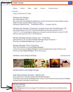 Cara Agar Halaman Beranda Cepat Diindex Google