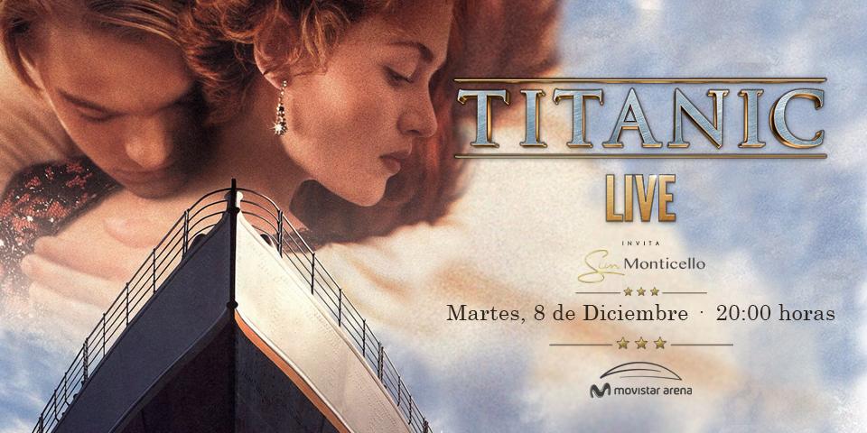 Titanic Live en Chile