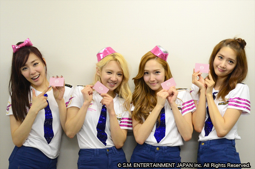 SNSD from SONE JAPAN