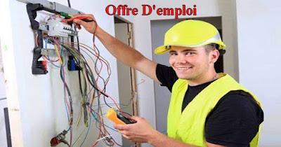 Offre D'emploi : Technicien en Electricité à Rabat