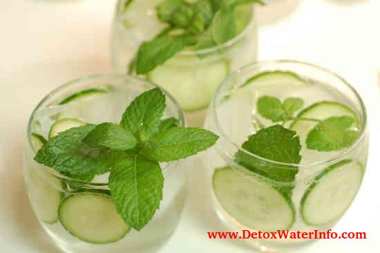 weight loss recipe Cucumber mint dill water
