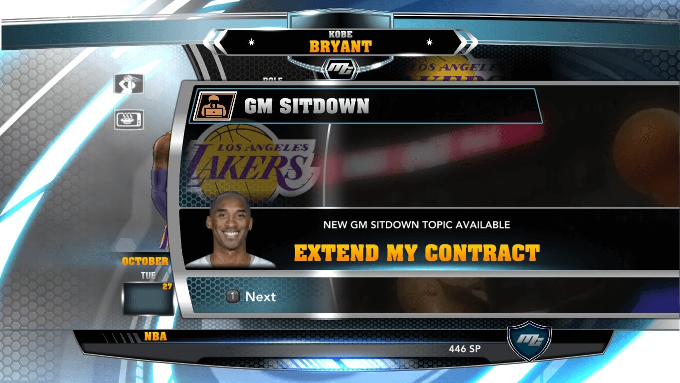 NBA 2k14 MyCareer Mod : Kobe Bryant (2016) - hoopsvilla
