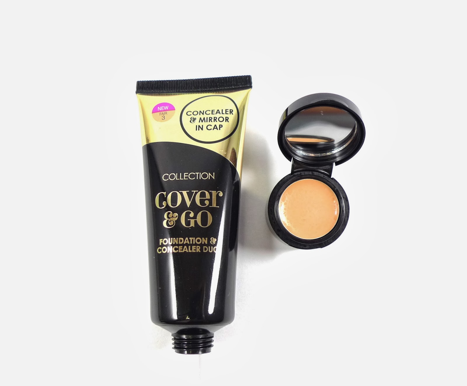 Collection Cosmetics Cover And Go Concealer And Foundation
