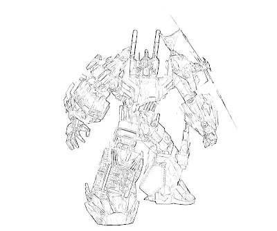 transformers cybertron coloring pages - photo#8