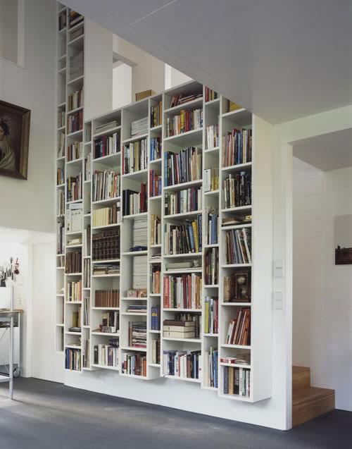 80 Desain Rak Buku Minimalis Unik  Desainrumahnyacom