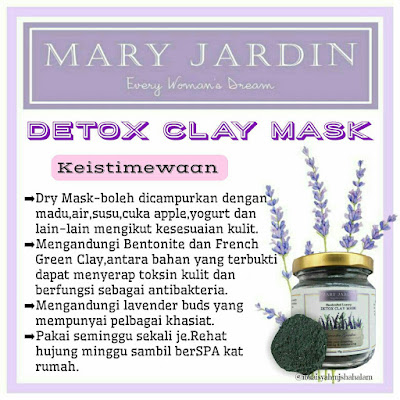 keistimewaan clay mask mary jardin