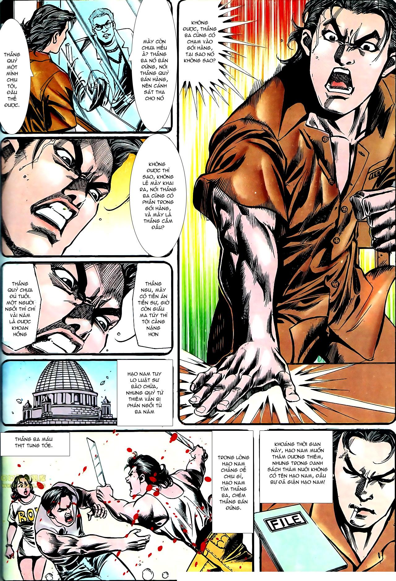 Người Trong Giang Hồ chapter 157: thiên đường địa ngục trang 10