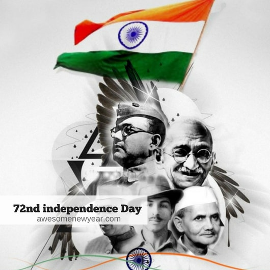 Happy 72nd independence day