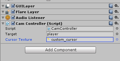 Atsiitech development blog: Changing the default Mouse Cursor in