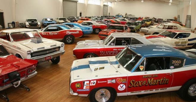 2015 Dodge Barracuda >> Just A Car Guy: Todd Werner's collection of full race version of muscle cars