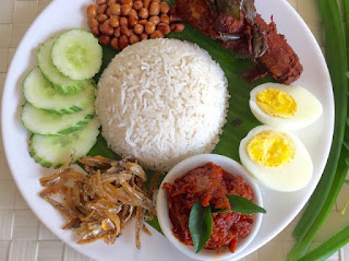 how to make Nasi lemak malaysia