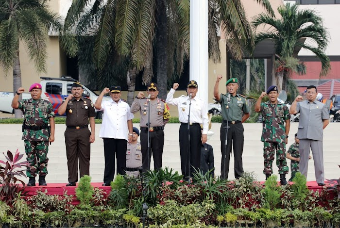 Pjs Gubernur Ingatkan Pentingnya Tiga Pilar Kamtibmas