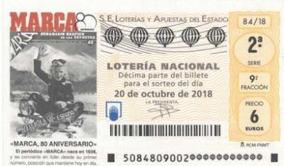 decimos loteria diario marca