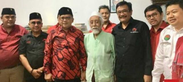 Abuya Muhtadi Minta NU-Muhammadiyah Bersatu Bantu Kiai Ma'ruf