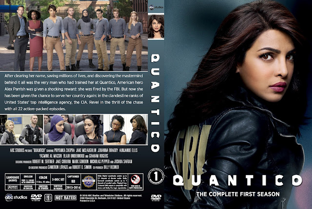 Quantico Season 1 DVD Cover