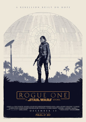 Star Wars Rogue One Odeon Cinema Movie Poster by Matt Ferguson