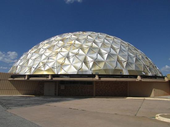 macam macam bentuk atap kubah