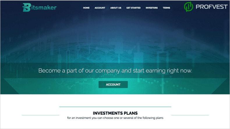Bitsmaker обзор и отзывы HYIP-проекта