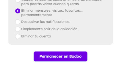 Como borrar todas tus visitas a tu perfil Badoo