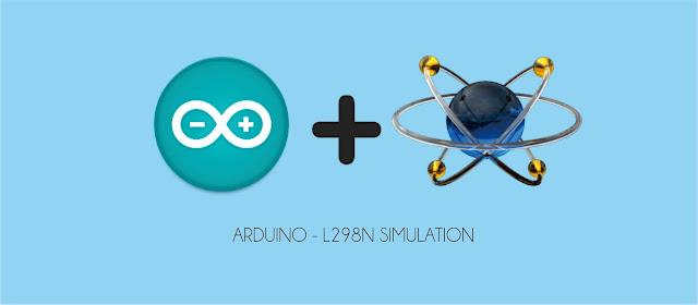 Proteus Simulation L298N