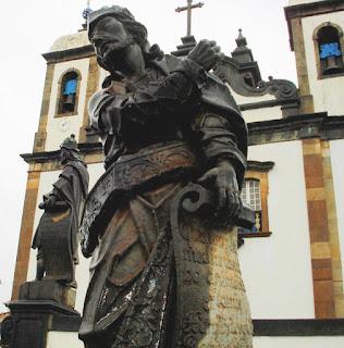Escultura do Profeta Ezequiel em Pedra Sabão por Aleijadinho