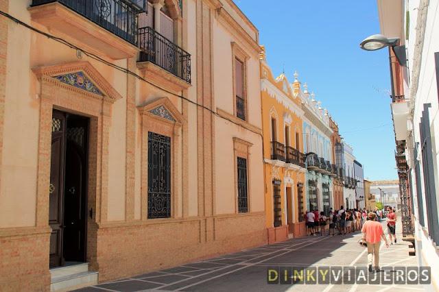 Rociana del Condado. Casas Señoriales de la calle Sevilla