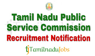 TNPSC Notification 2018