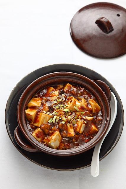 Szechuan mabo tofu