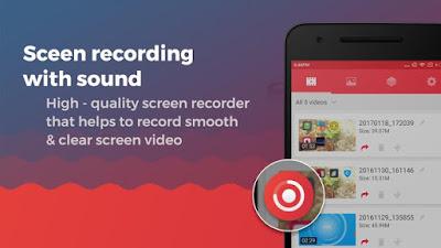 Aplikasi Perekam Layar Dan Suara & Rekam Layar Untuk Video APK v1.0.7 Update Terbaru 2018