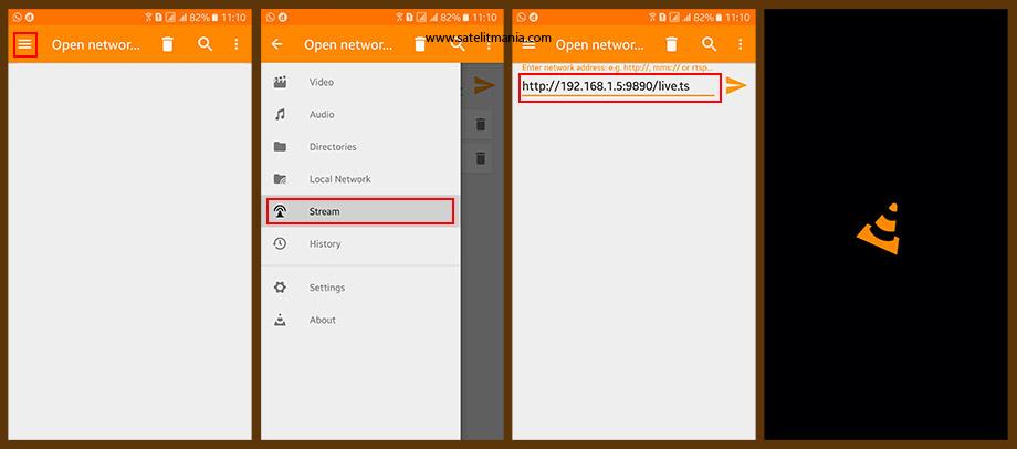 Webserver Receiver menggunakan Android