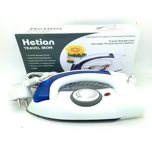Setrika Uap Lipat Mini Steam Iron Traveling
