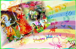 God radhe krishana wishes a holi festival