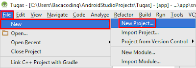 Cara Membuat Aplikasi Profile Sederhana Dengan Android Studio