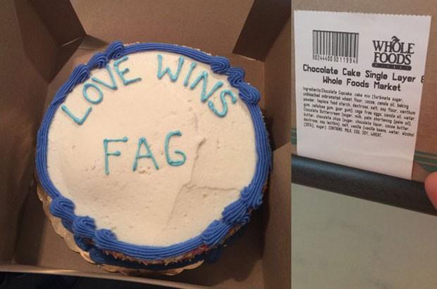 Pastor processa empresa por bolo com mensagem homofóbica nos EUA