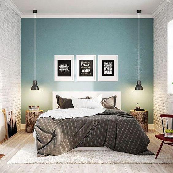 Decoraci n dormitorios 50 l mparas de dormitorios - Pintura de dormitorios ...