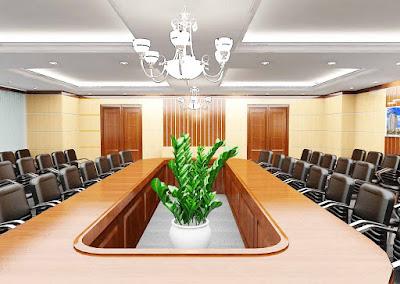 Mẫu thiết kế nội thất phòng họp đẹp và sang trọng