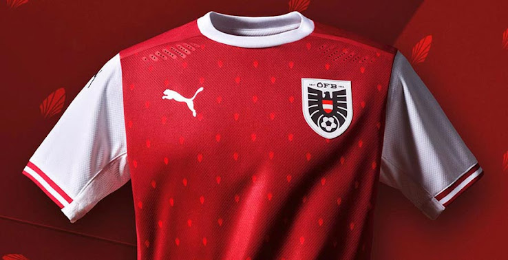 Austria Euro 2020 Home Kit Released - Footy Headlines