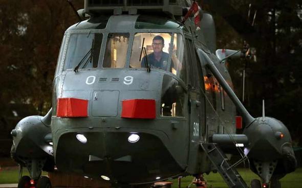 Πολεμικό ελικόπτερο μεταμορφώνεται σε… ξενοδοχείο – ΦΩΤΟ