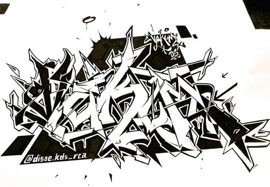 460+ Foto Gambar Grafiti Nama Keren Di Kertas Gratis Terbaru