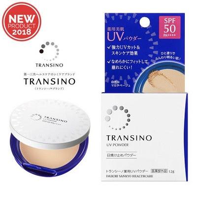 Phấn nền Transino UV Powder SPF50 PA++++