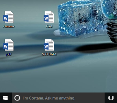 all desktop icons changed to word | pdf