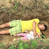 Heartbreaking: Father Digs Grave for Sick Daughter, Then Turns the Grave to her Playground [photos]