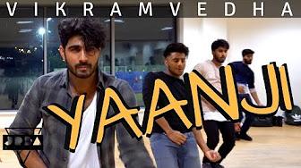Yaanji DANCE cover   Vikram Vedha   Anirudh, Vijay Sethupathi, Madhavan @JeyaRaveendran Choreography