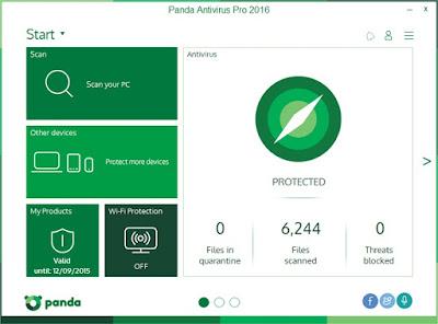 Panda Antivirus Pro 2016 Sundeep Maan