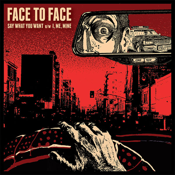 "Face To Face announce new 7"" ""Say What You Want"""