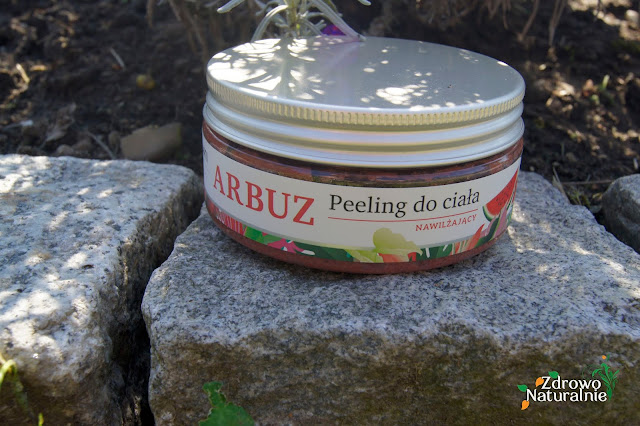 Nawilżający peeling do ciała Mohani Wild Garden - Arbuz