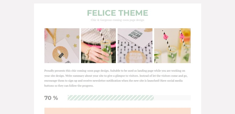 Felice Free Blogger Template